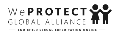We PROTECT Global Alliance logo black and white